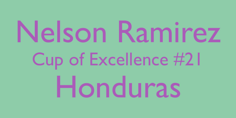 Nelson Ramirez Cup of Excellence