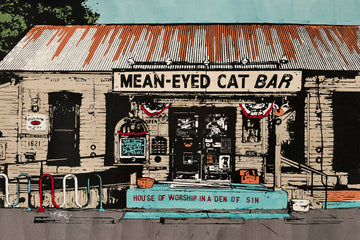 Once a small chainsaw repair shop this local Austin bar pays homage to the great Johnny Cash. Portraits, posters, vinyl album copies and all varieties of Cash memorabilia cover the entire building, in and out. It's a great place to enjoy a local beer and some Stubb's BBQ.