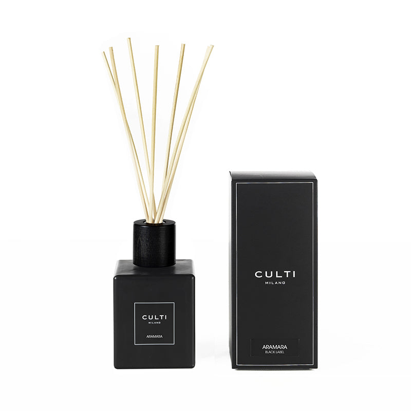 CULTI MILANO BLACK LABEL DIFFUSER 500ML - ARAMARA