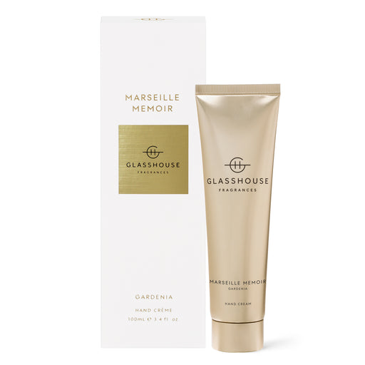 GLASSHOUSE FRAGRANCES 100ML HAND CREAM - MARSEILLE MEMOIR