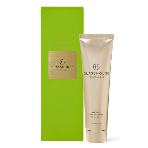 GLASSHOUSE FRAGRANCES 100ML HAND CREAM - WE MET IN SAIGON
