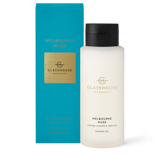 GLASSHOUSE FRAGRANCES 400ML SHOWER GEL - MELBOURNE MUSE