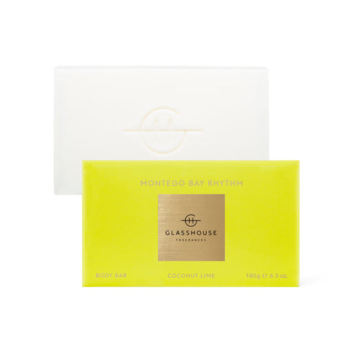 GLASSHOUSE FRAGRANCES 180G BODY BARS - MONTEGO BAY RHYTHM