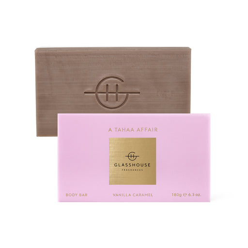 GLASSHOUSE FRAGRANCES 180G BODY BARS - A TAHAA AFFAIR