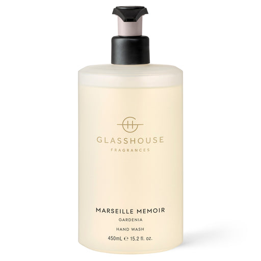 GLASSHOUSE FRAGRANCES 450ML HAND WASH - MARSEILLE MEMOIR