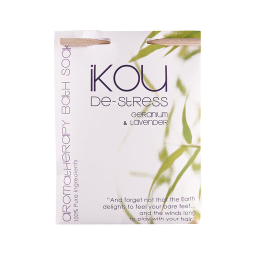 iKOU 100% NATURAL BATH SOAK 125G - DE-STRESS