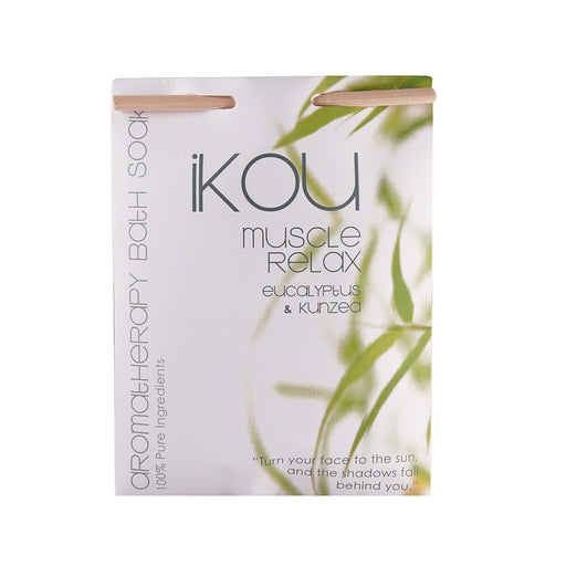 iKOU 100% NATURAL BATH SOAK 125G - MUSCLE RELAX