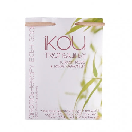 IKOU 100% NATURAL BATH SOAK 125G - TRANQUILITY