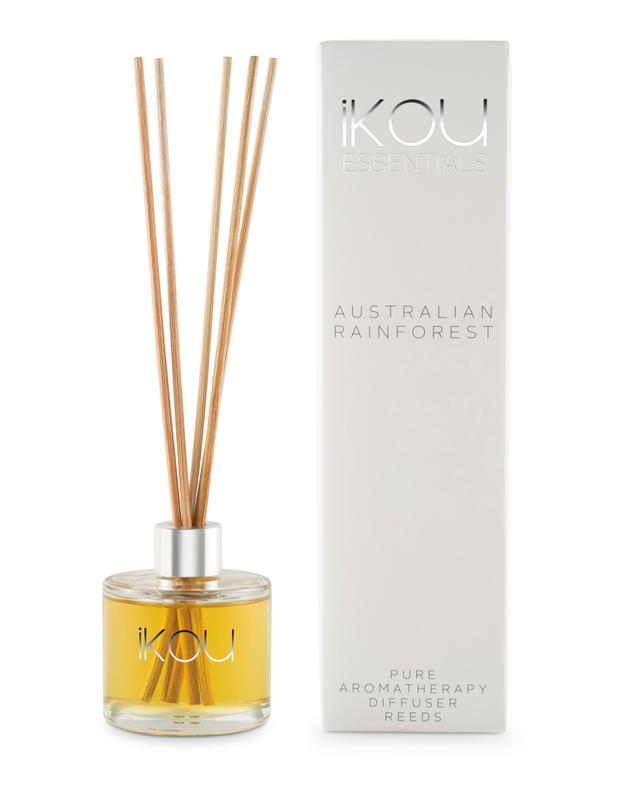 iKOU ESSENTIALS MINI REED DIFFUSER 50ML - AUSTRALIAN RAINFOREST