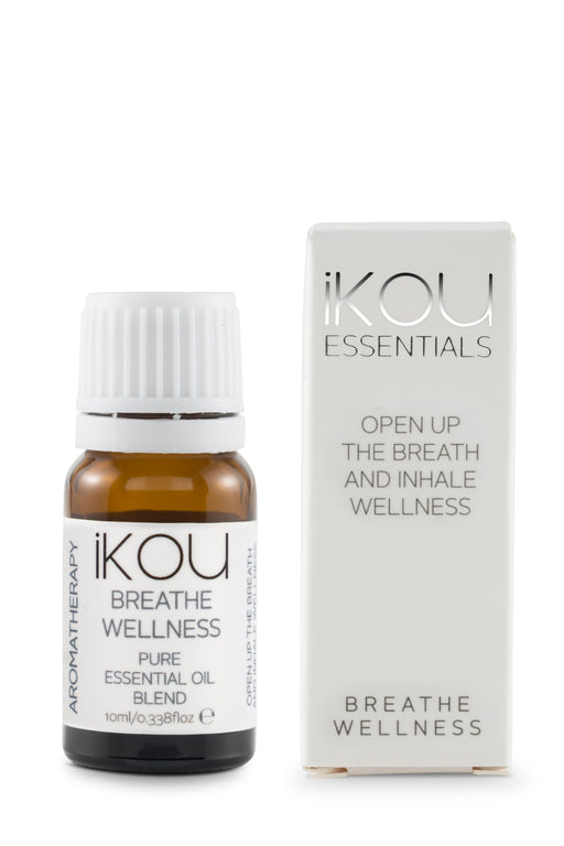 iKOU ESSENTIAL OILS 10ML - BREATHE WELLNESS