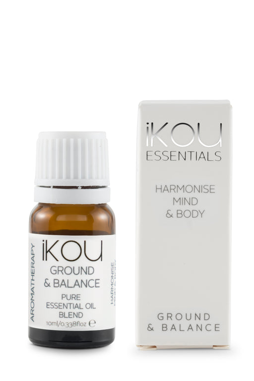iKOU ESSENTIAL OILS 10ML - GROUND & BALANCE