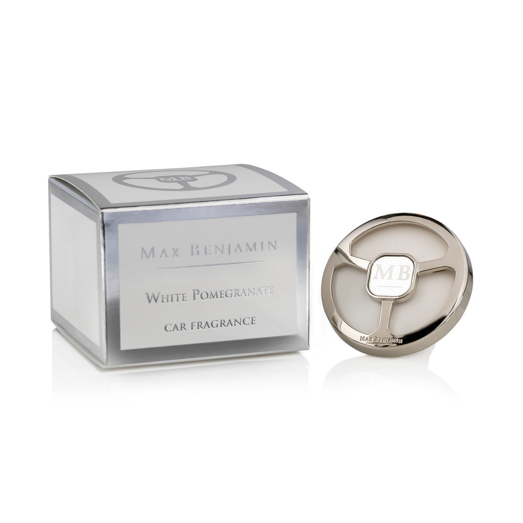 MAX BENJAMIN LUXURIOUS CAR FRAGRANCE - WHITE POMEGRANATE