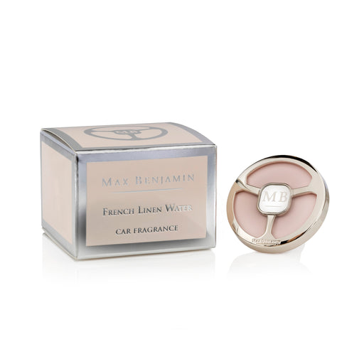 MAX BENJAMIN LUXURIOUS CAR FRAGRANCE - FRENCH LINEN WATER