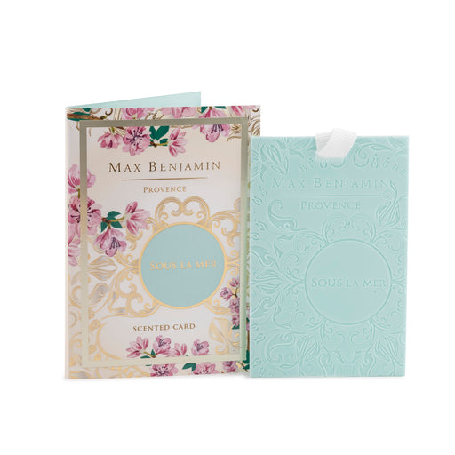 MAX BENJAMIN PROVENCE COLLECTION SCENTED CARD - SOUS LA MER