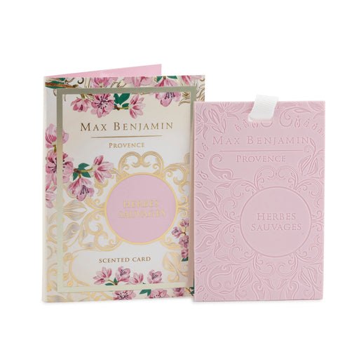 MAX BENJAMIN PROVENCE COLLECTION SCENTED CARD - HERBES SAUVAGES