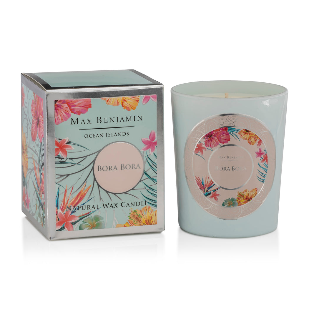 MAX BENJAMIN OCEAN ISLANDS COLLECTION CANDLE 190G - BORA BORA