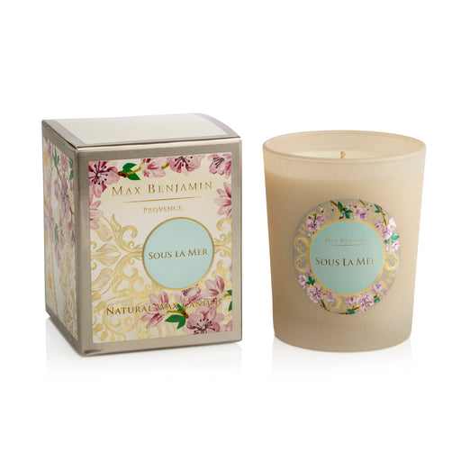 MAX BENJAMIN PROVENCE COLLECTION CANDLE 190G - SOUS LA MER