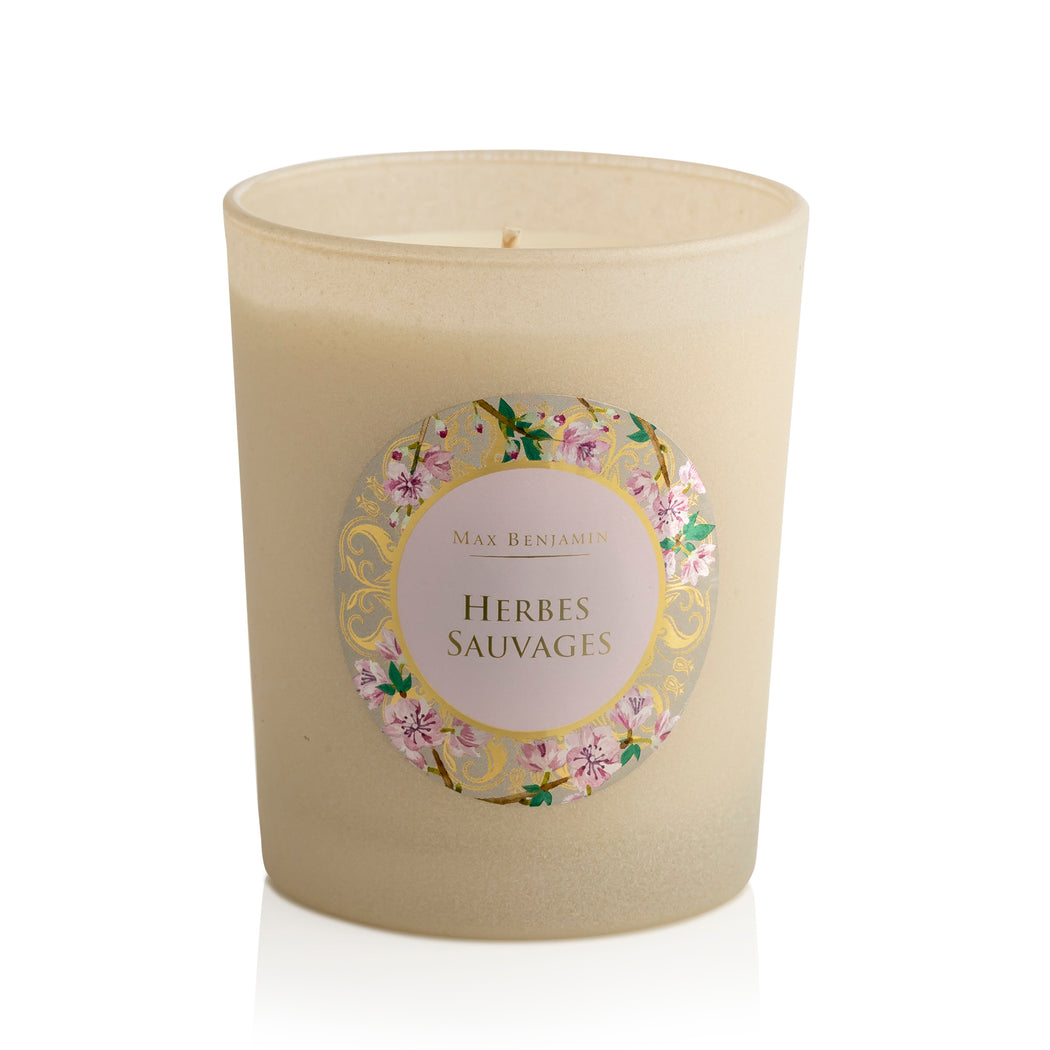 MAX BENJAMIN PROVENCE COLLECTION CANDLE 190G - HERBES SAUVAGES