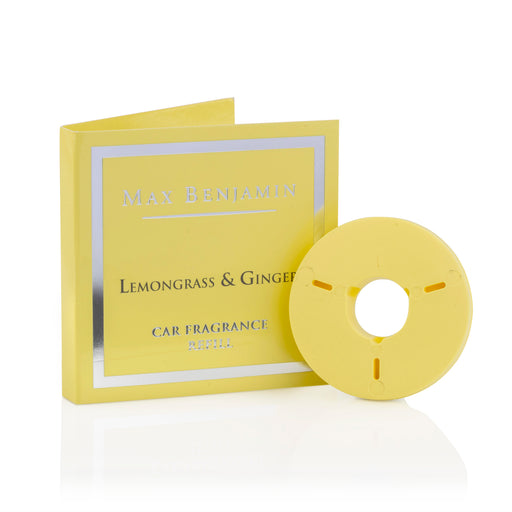 MAX BENJAMIN LUXURIOUS CAR FRAGRANCE REFILL - LEMONGRASS & GINGER