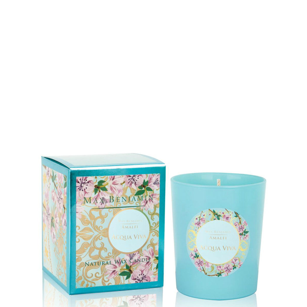 MAX BENJAMIN AMALFI COLLECTION CANDLE 190G - ACQUA VIVA