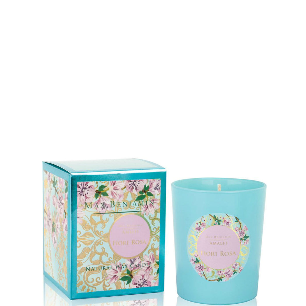 MAX BENJAMIN AMALFI COLLECTION CANDLE 190G - FIORI ROSA