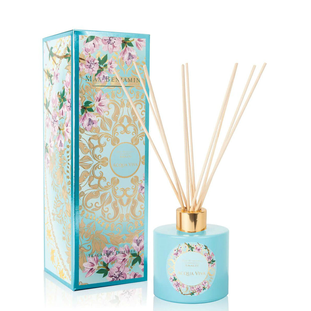 MAX BENJAMIN AMALFI COLLECTION DIFFUSER 150ML - ACQUA VIVA