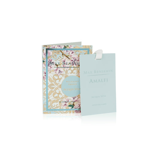 MAX BENJAMIN AMALFI COLLECTION SCENTED CARD - ACQUA VIVA