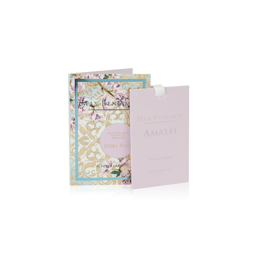 MAX BENJAMIN AMALFI COLLECTION SCENTED CARD - FIORI ROSA