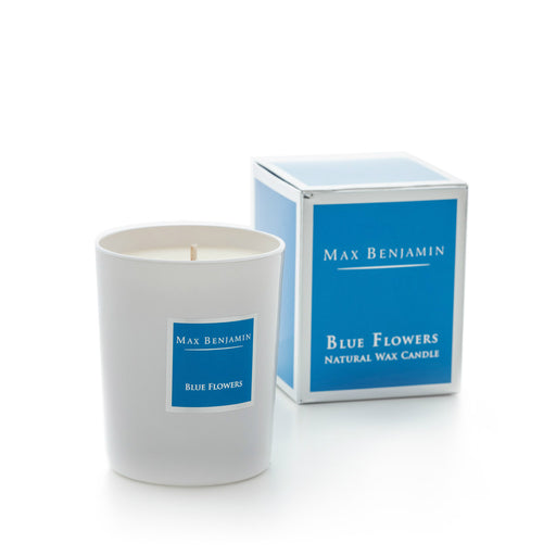MAX BENJAMIN CLASSIC CANDLE 190G - BLUE FLOWERS
