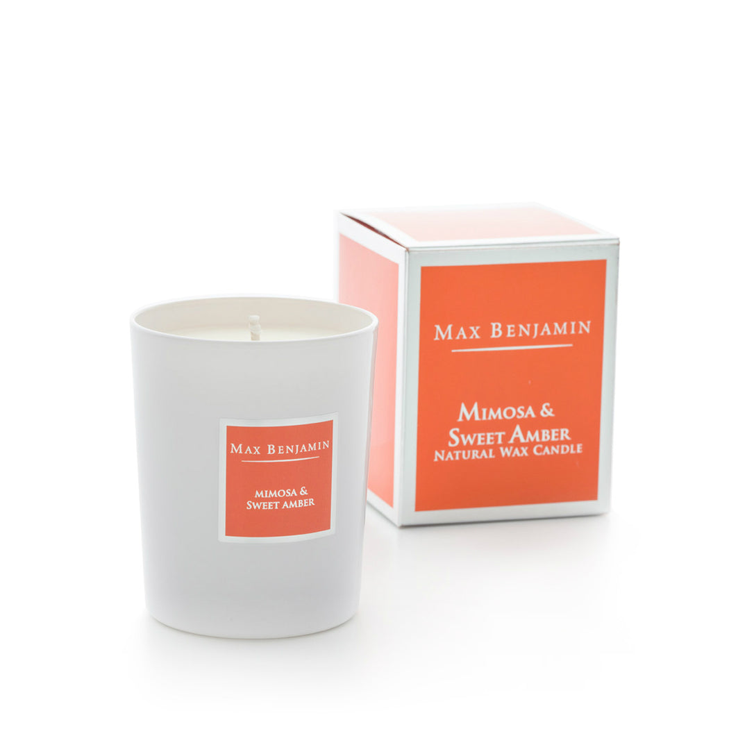MAX BENJAMIN CLASSIC CANDLE 190G - MIMOSA & SWEET AMBER