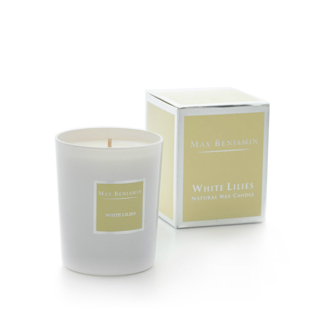MAX BENJAMIN CLASSIC CANDLE 190G - WHITE LILIES
