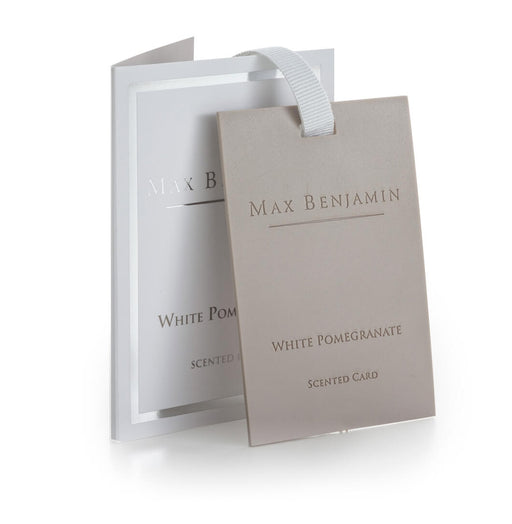 MAX BENJAMIN CLASSIC SCENTED CARD - WHITE POMEGRANATE