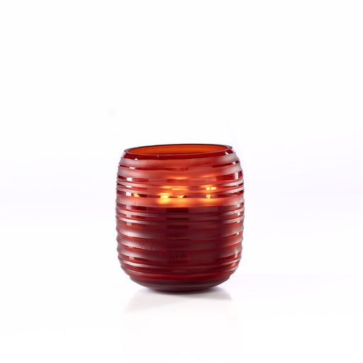 ONNO RED SPHERE L CANDLE - PHUKET LOTUS