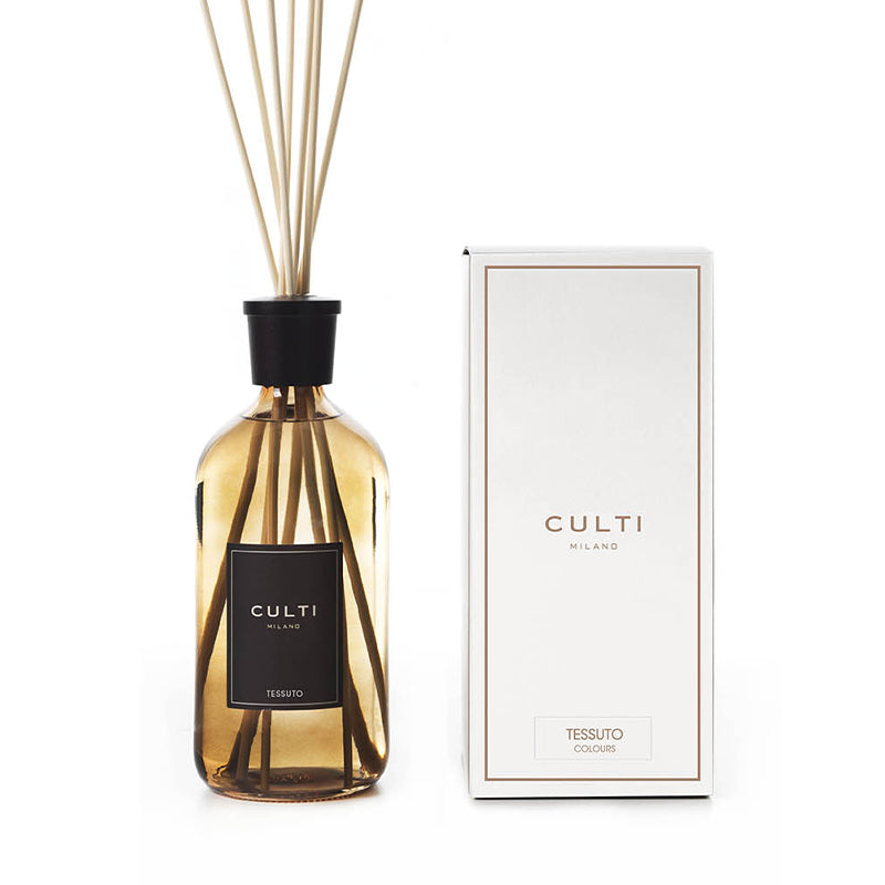 CULTI MILANO COLOURS DIFFUSER 1000ML BROWN - TESSUTO
