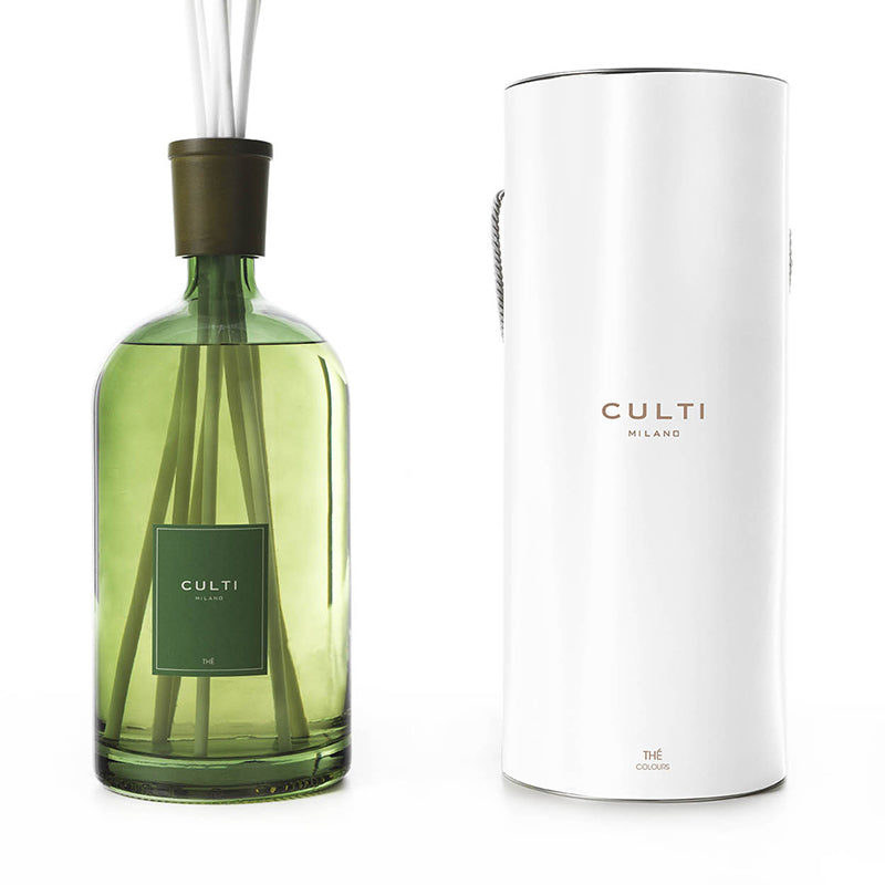 CULTI MILANO COLOURS DIFFUSER 4300ML GREEN - THÉ