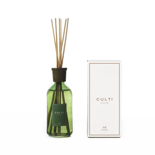 CULTI MILANO COLOURS DIFFUSER 500ML GREEN - THÉ