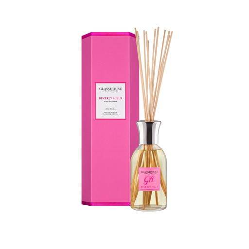 GLASSHOUSE FRAGRANCES DIFFUSER 250ML - BEVERLY HILLS