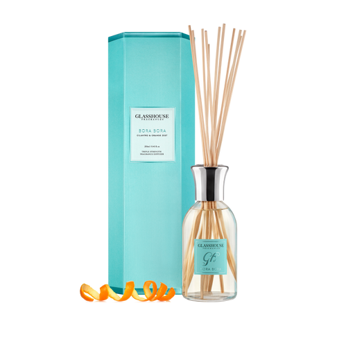 GLASSHOUSE FRAGRANCES DIFFUSER 250ML - BORA BORA
