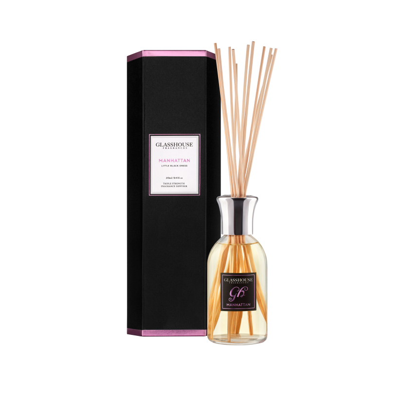 GLASSHOUSE FRAGRANCES DIFFUSER 250ML - MANHATTAN