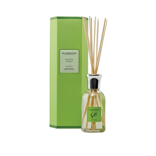 GLASSHOUSE FRAGRANCES DIFFUSER 250ML - SAIGON