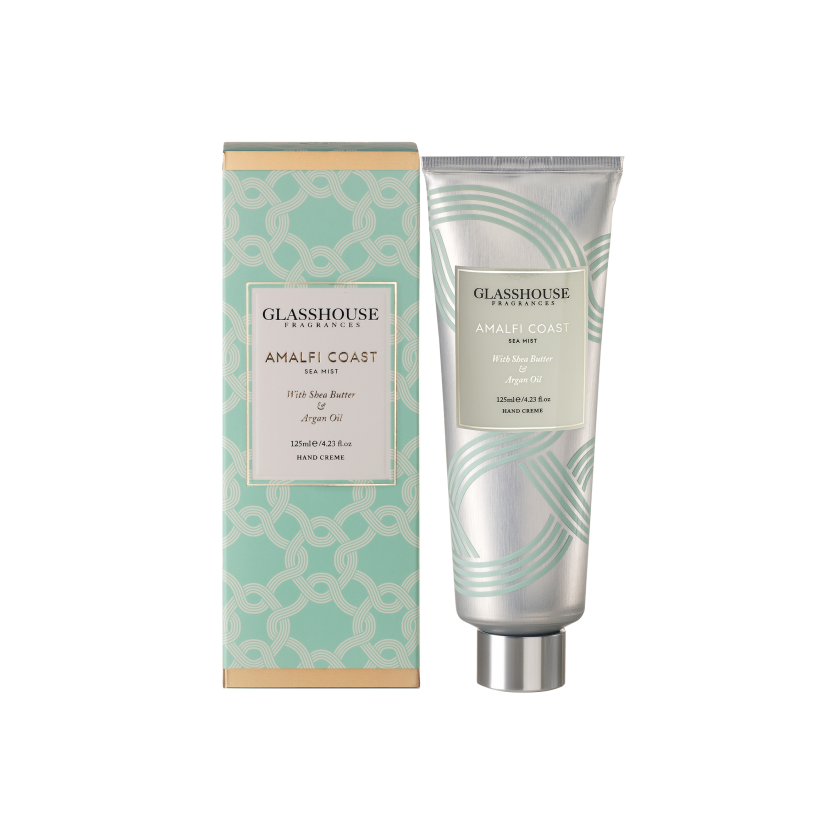 GLASSHOUSE FRAGRANCES HAND CREAM 125ML - AMALFI COAST