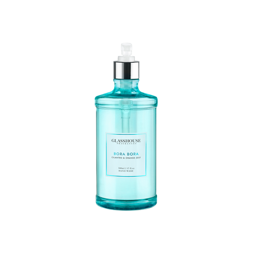 GLASSHOUSE FRAGRANCES HAND WASH 500ML - BORA BORA