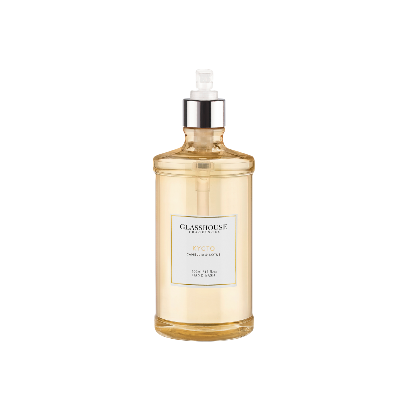 GLASSHOUSE FRAGRANCES HAND WASH 500ML - KYOTO