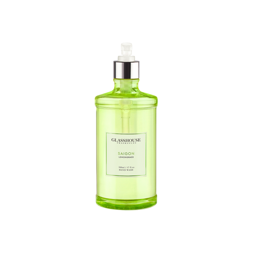 GLASSHOUSE FRAGRANCES HAND WASH 500ML - SAIGON