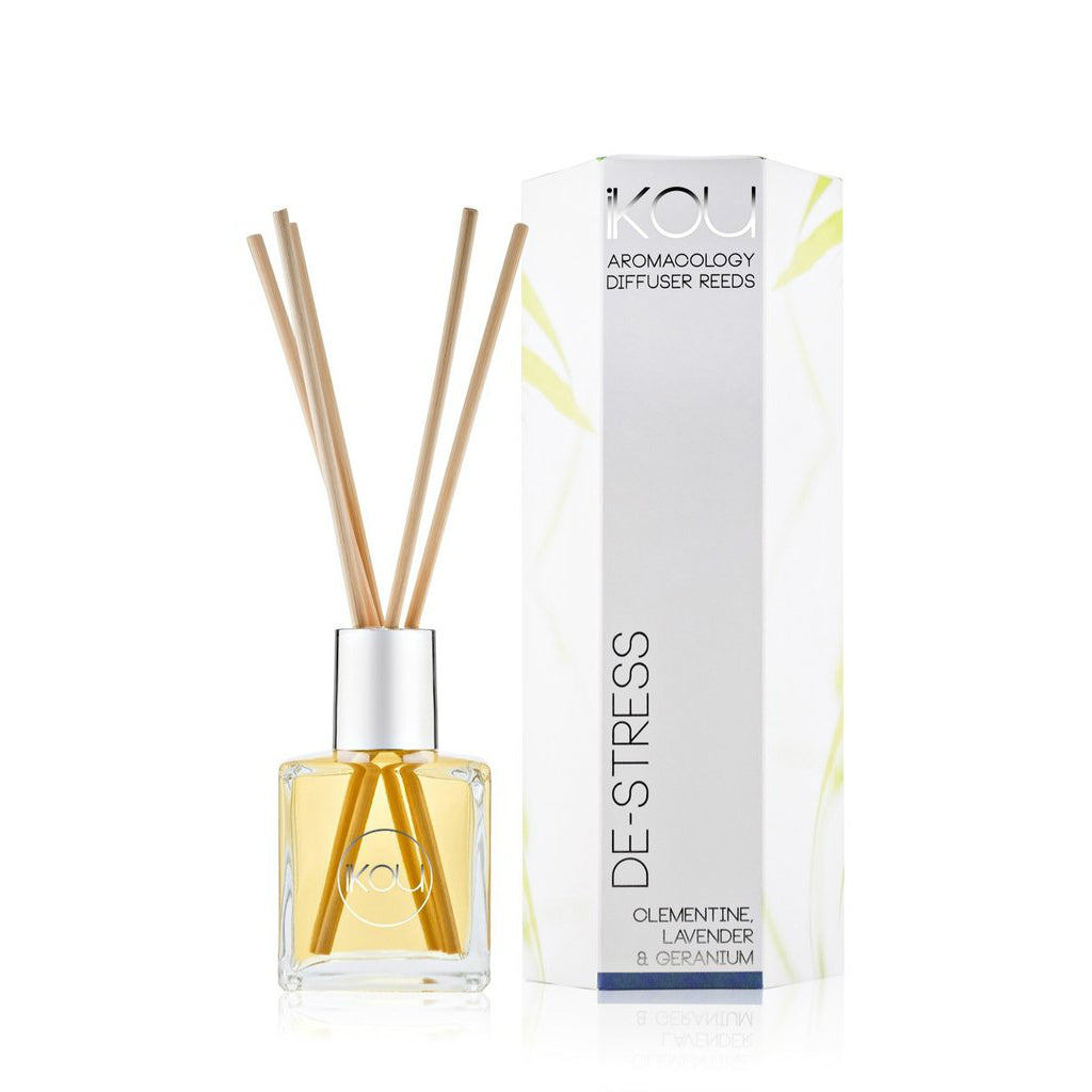 iKOU ECO-LUXURY REED DIFFUSER 175ML - DE-STRESS