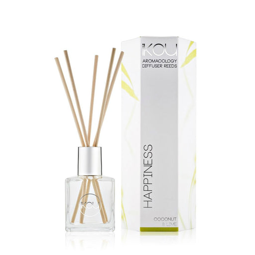 iKOU ECO-LUXURY REED DIFFUSER 175ML - HAPPINESS
