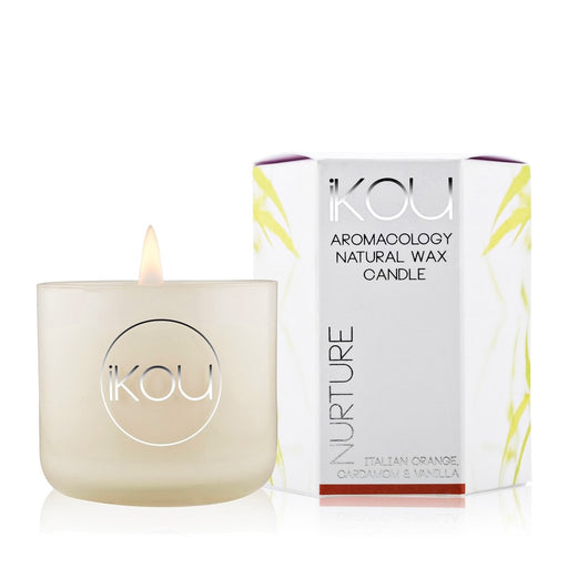 iKOU ECO-LUXURY SMALL CANDLE 85G - NURTURE