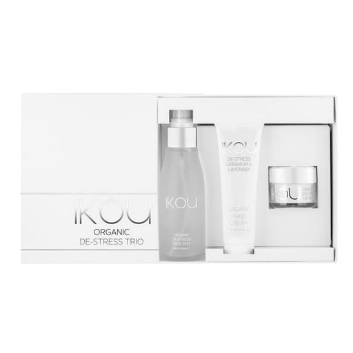 iKOU ORGANIC ESSENTIALS GIFT SET - DE-STRESS TRIO