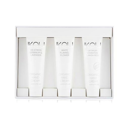 iKOU ORGANIC ESSENTIALS GIFT SET - HAND CREAM TRIO