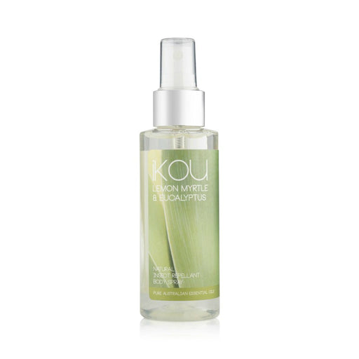 iKOU 100% NATURAL INSECT REPELLENT BODY SPRAY 125ML
